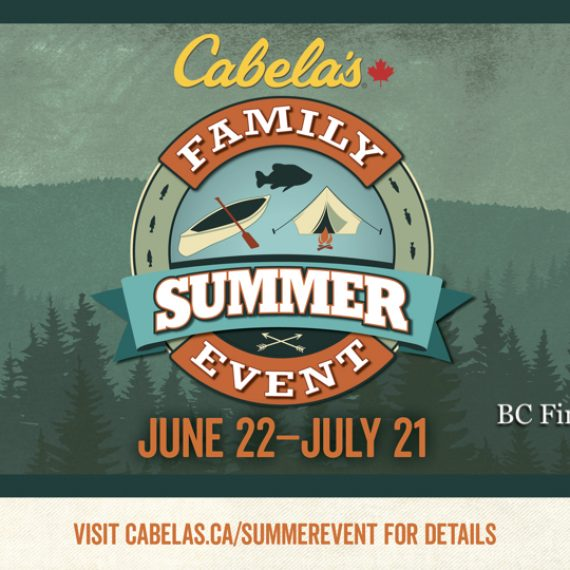 Family Summer Event at Cabela's Abbotsford June to July 2019