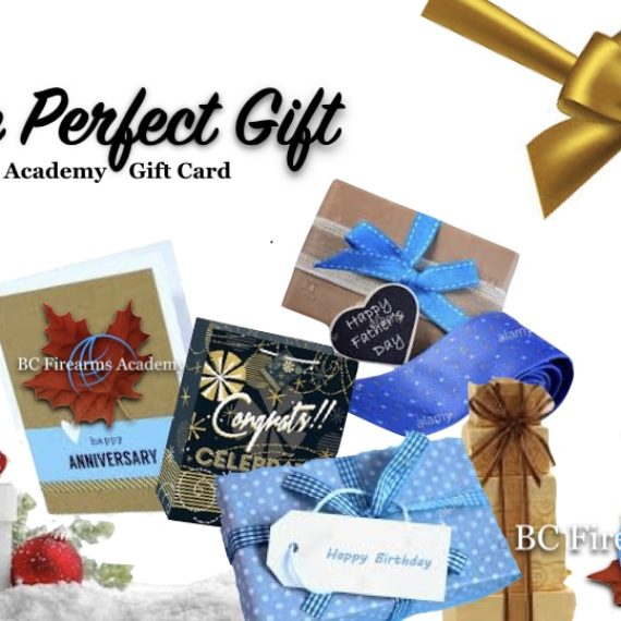 BC Firearms Academy Has the Perfect Gift for You!
