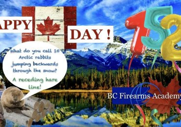 Happy Canada Day from BC Firearms Academy!