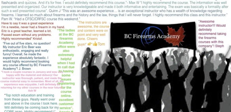 5 Stars For BC Firearms Academy!
