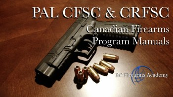 Canadian Firearms Program Manual
