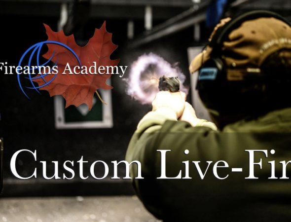 Custom Live-Fire Training Aug 28