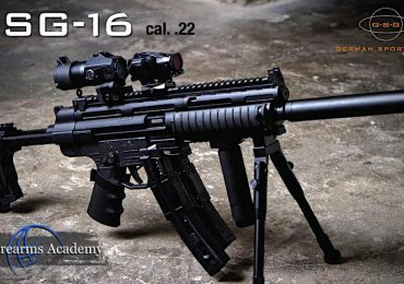 GSG-16 .22LR  With The Look Of an H&K MP5 in Canada Non-Restricted