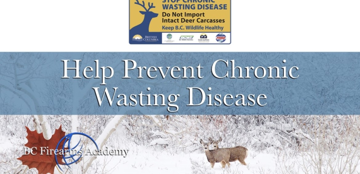 Help Prevent Chronic Wasting Disease from Infecting B.C. Deer