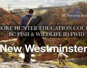 CORE Hunter Education Fish & Wildlife ID (FWID) New Westminster Feb 22-23 (Sat-Sun)