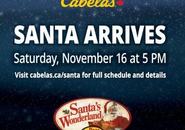Cabela's for Santa's Wonderland 2019