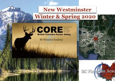CORE COURSE DATES FOR NEW WESTMINSTER: WINTER & SPRING 2020