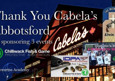 Thank You Cabela's Abbotsford for Sponsoring 3 CFGPA Events