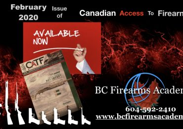 Canadian Access to Firearms February 2020