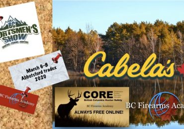 BC Sportsmen's Show at the Abbotsford Tradex March 6-8 2020