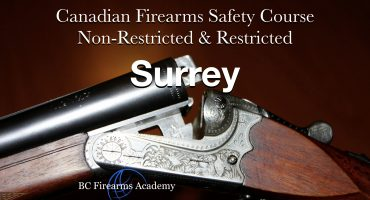NON-RESTRICTED CFSC (non-restricted PAL) Surrey Wednesday March 24