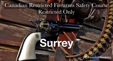 RESTRICTED UPGRADE CRFSC (RPAL) South Surrey Sunday January 24