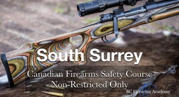 NON-RESTRICTED ONLY CFSC (non-restricted PAL) South Surrey Saturday June 20