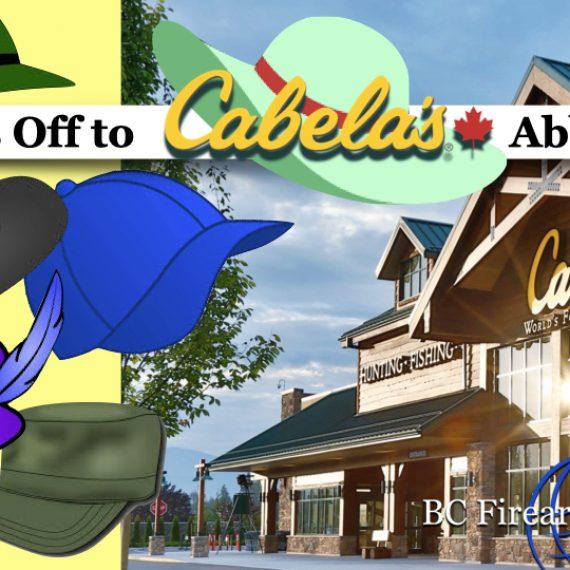 Thank You Cabela's!