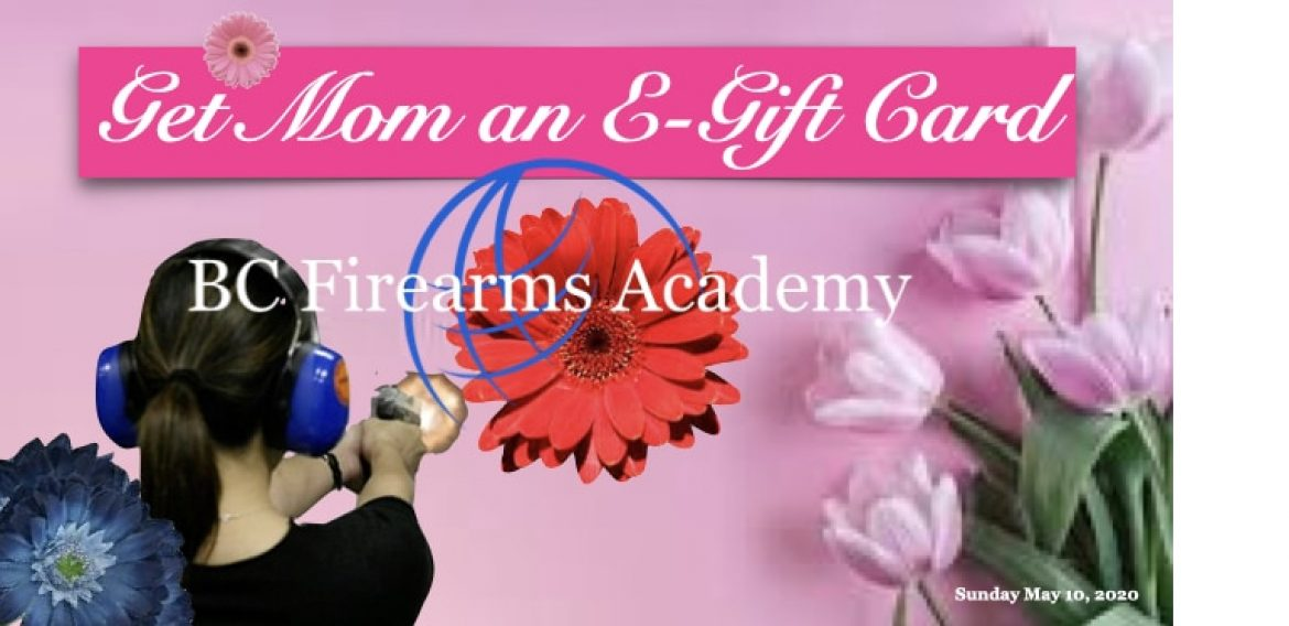 Purchase a Mother's Day E-Gift Card Today!