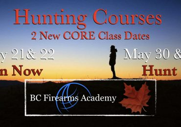 Hunting Courses Are Back! We Have 2 New Dates Register Now!