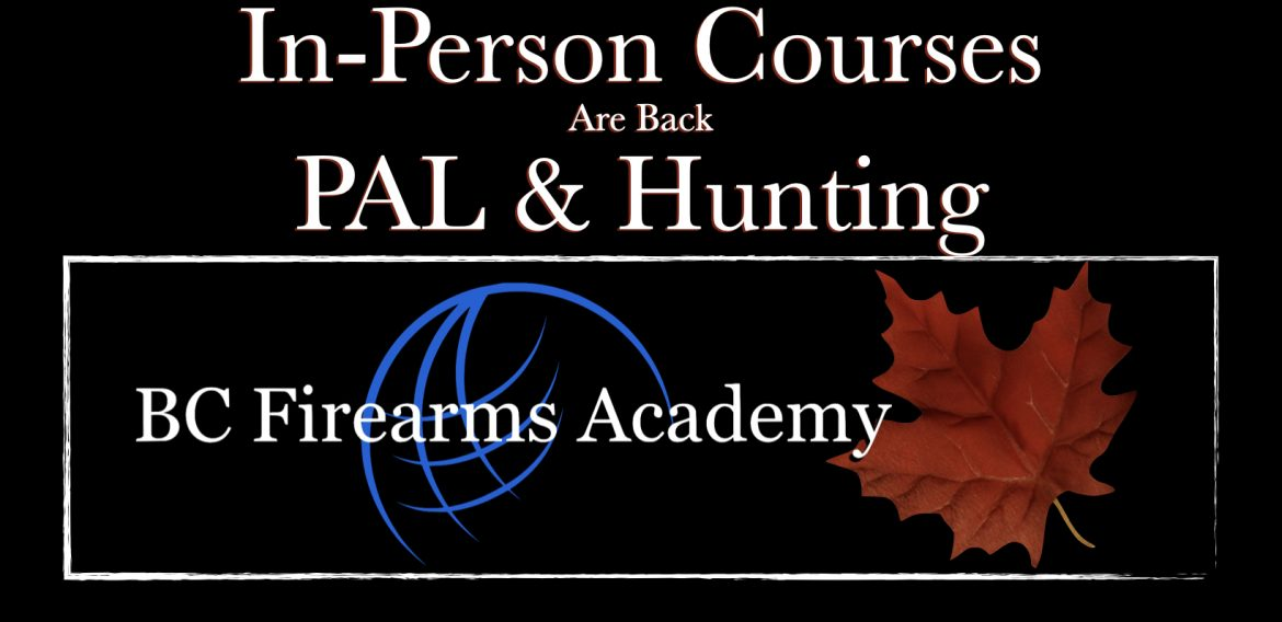PAL and CORE In-Person Courses Are Back May 15th 2020