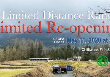 Limited Re-opening Of The Chilliwack Fish and Game Range