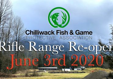 The CFGPA Rifle Range will re-open this Weds, June 3!