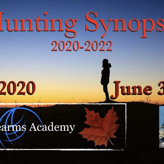 Hunting & Trapping Regulations Synopsis 2020 – 2022