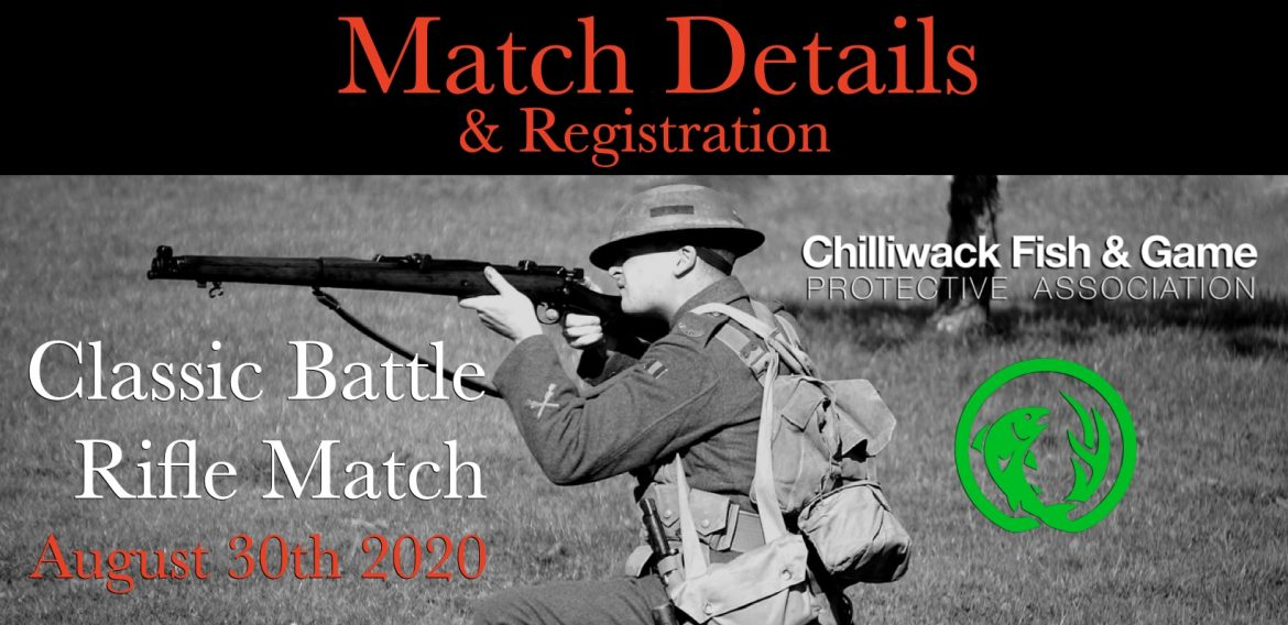Classic Battle Rifle Match Details & Registration Info August 30