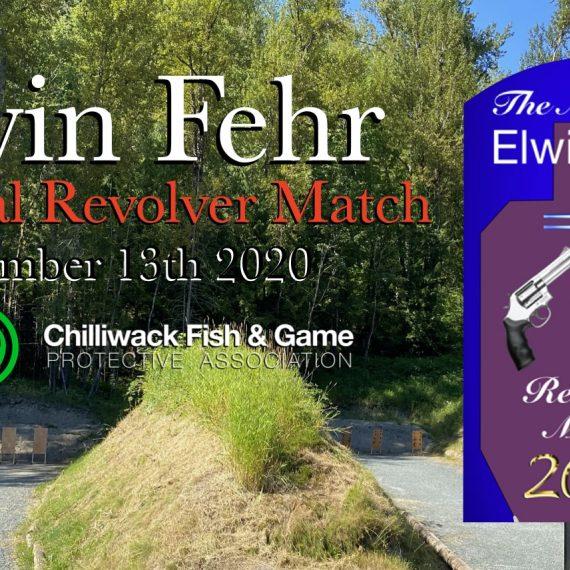 The Elwin Fehr Memorial Match September 13th 2020