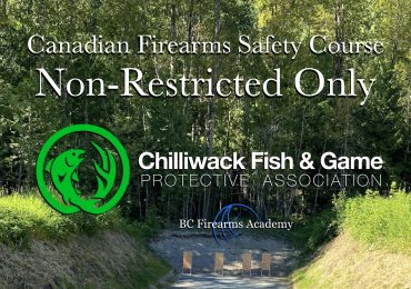 NON-RESTRICTED CFSC (non-restricted PAL) Chilliwack Wednesday Feb 24