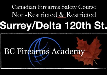RESTRICTED UPGRADE CRFSC (RPAL) Surrey/Delta Sunday November 29