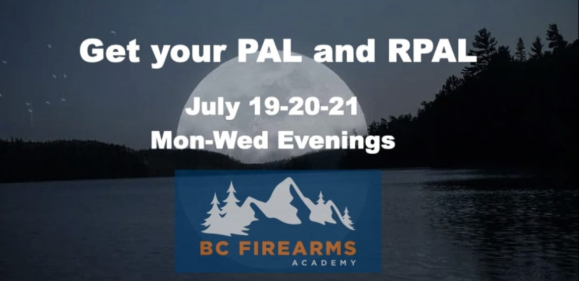 July 26-28 Evening PAL Course