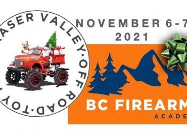 Fraser Valley Off-Road Toy Run Nov 6-7 2021