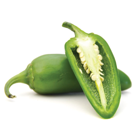 Jalapenos for dehydration