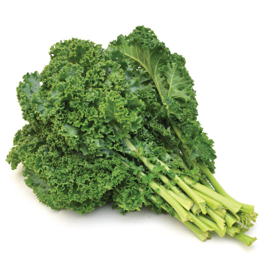 Kale for dehydration