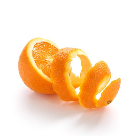 Orange for dried citrus peel ingredients