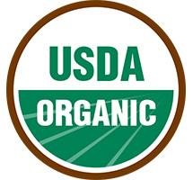 Certified USDA Organic Ingredients