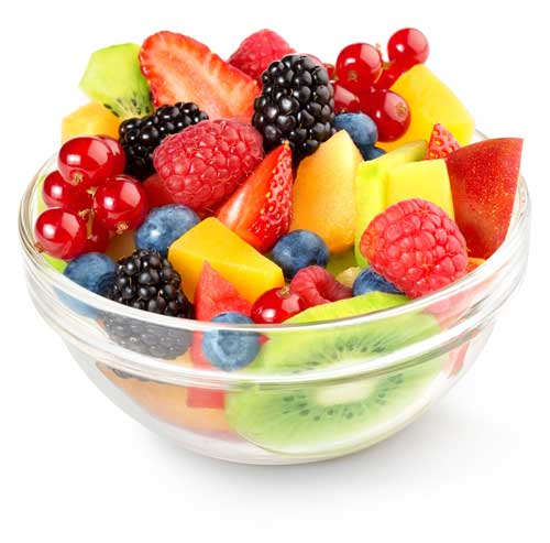 Select fruit and berries for dried fruit ingredients
