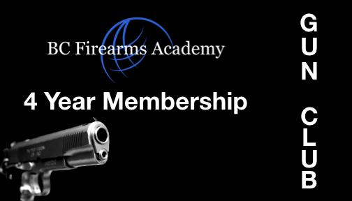BCFA Gun Club Number of Years 4