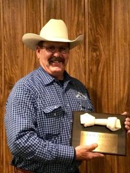 Robert Anderson wins the 2019 Bonehead Packer Award