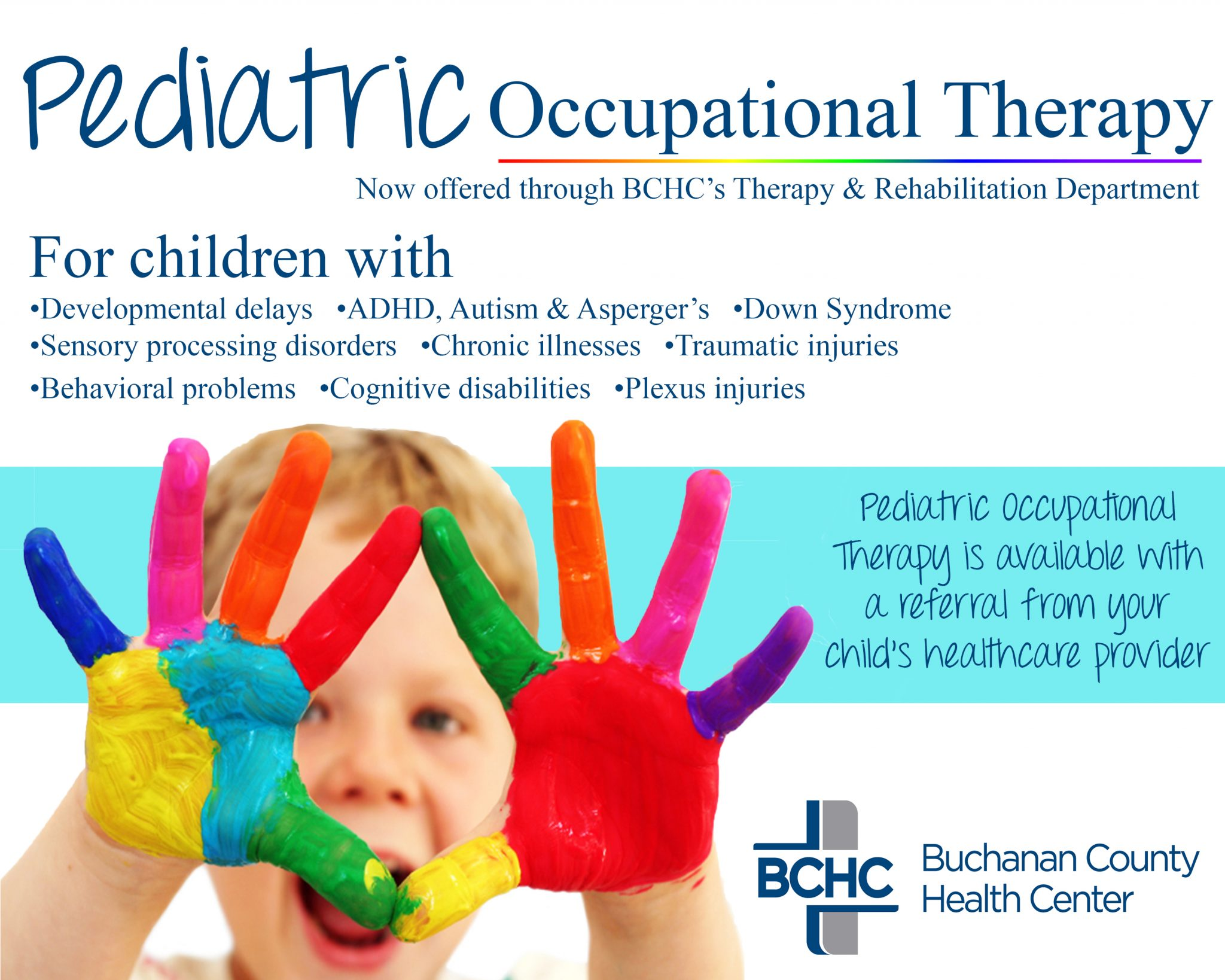 Buchanan County Health Center Now Offering Pediatric Occupational Therapy