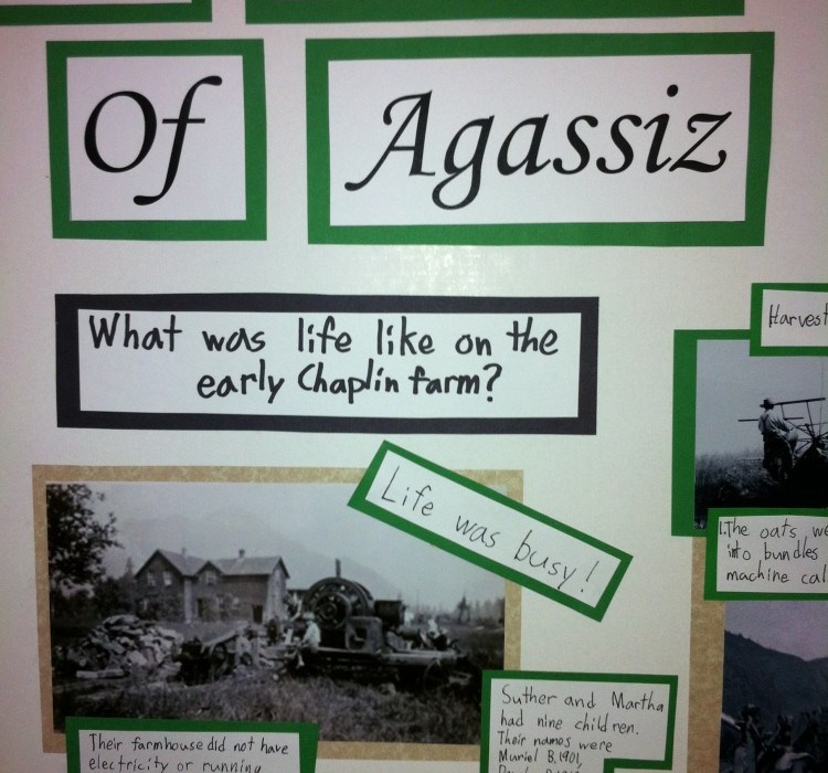 The Chaplins of Aggasiz