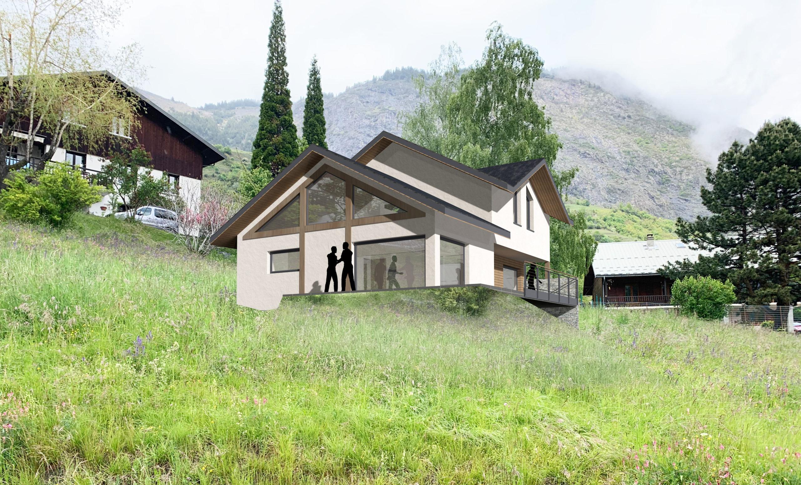 Maison individuelle d'architecte