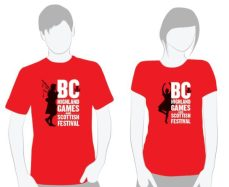 Red Tee-shirt design