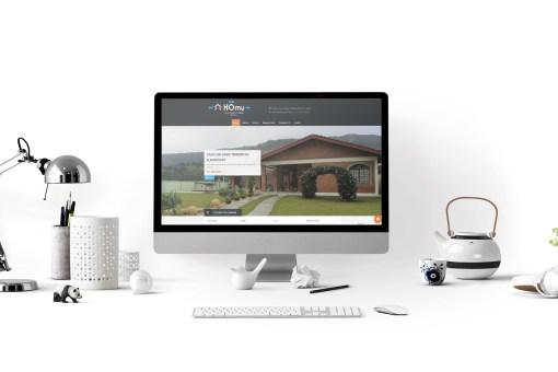 Website – Imobiliária Homu
