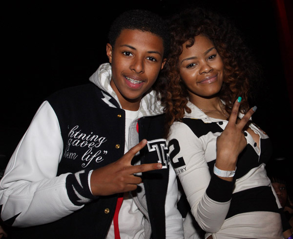 THE SIMMONS BROTHERS AT JUSTIN DIOR COMBS 16TH BIRTHDAY PARTY