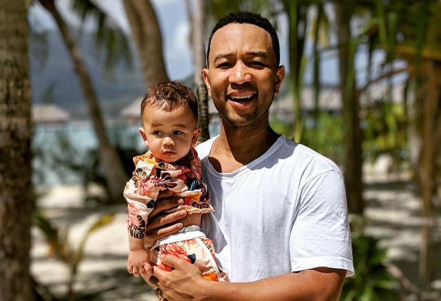 CHRISSY TEIGEN SHARES CUTE PHOTOS OF HUSBAND JOHN LEGEND