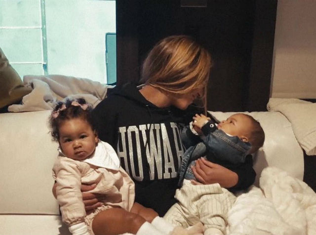 beyonce and jay z s twins celebrate