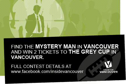 @GreyCupChase: Here are Tuesday's Vancouver clues for your chance to win Grey Cup Tickets #YVRChase