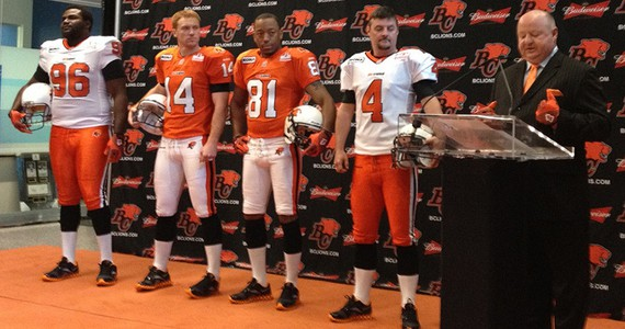 "Review of the ""New"" BC Lions jerseys and a great deal on a pro-stitched jersey!"