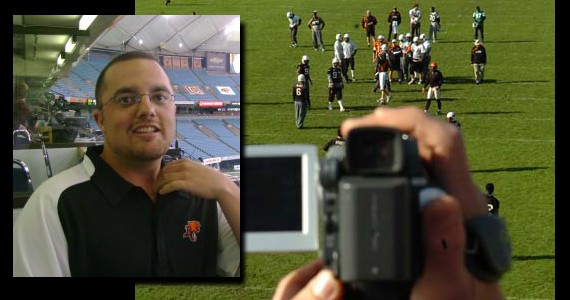It's all on the film: An interview with BC Lions Video Coordinator Justin Coderre