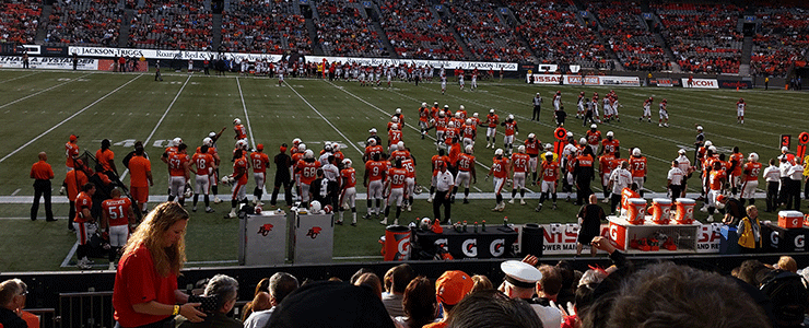From The Stands – Lions 37 Stampeders 13 (Preseason)