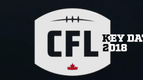 Key CFL Dates in 2018